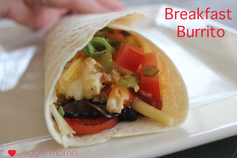 Breakfast Burrito – an excellent hangover breakfast.