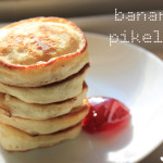 easy, fluffy banana pikelets