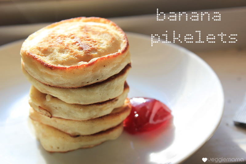 The secret to making fluffy banana pikelets