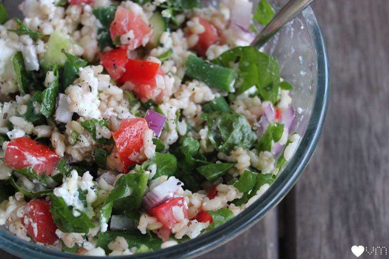brown rice salad recipe   Veggie mama
