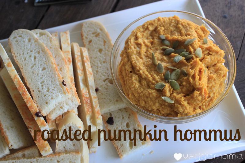 roasted pumpkin hommus | Veggie mama