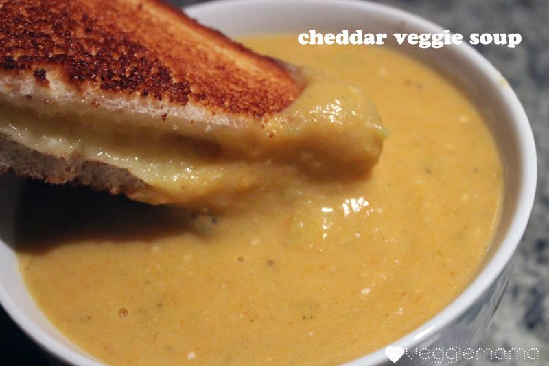 cheddar veggie soup recipe   Veggie Mama