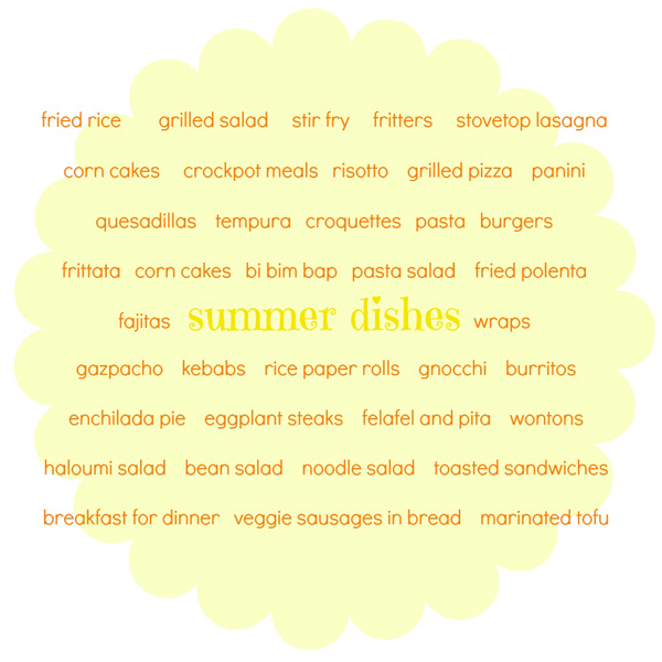Dinner ideas for hot weather | Veggie Mama