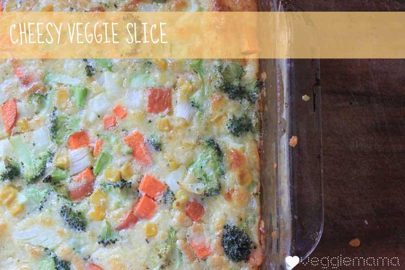 Zucchini slice but with veggies recipe | Veggie Mama