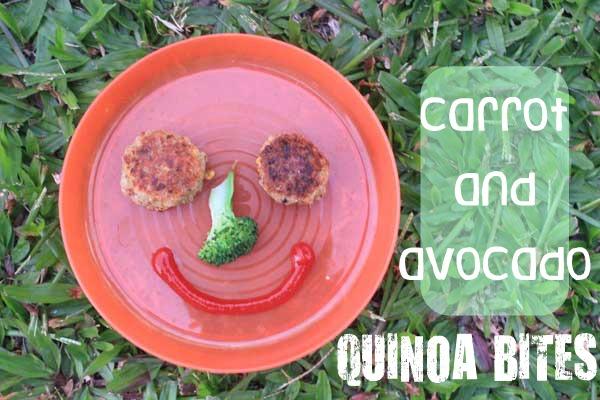 Quinoa balls with carrot and avocado | Veggie Mama