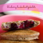 Blueberry buckwheat pikelets - gluten free!   Veggie Mama