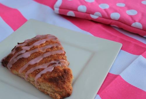 Strawberry pop tart scones recipe | Veggie mama