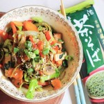 Vegetarian soba noodle stir fry - lunch in 10 minutes   Veggie Mama