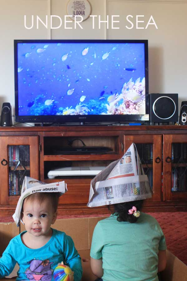 Activities for toddlers: Under the sea week | Veggie Mama