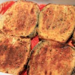 Vegetarian Eggplant, pumpkin and haloumi parmigiana | Veggie Mama
