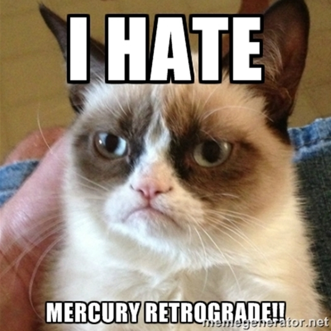 I hate Mercury Retrograde | Veggie Mama