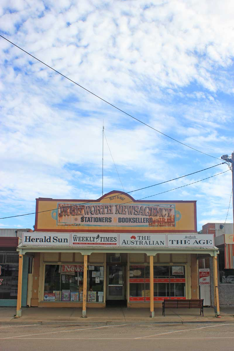 Rushworth Newsagency, Victoria