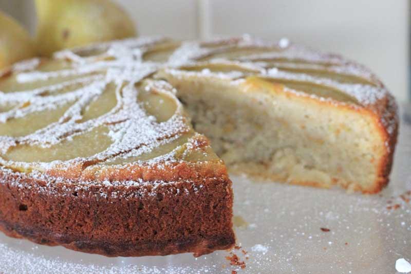 sorta healthy pear cake | Veggie Mama