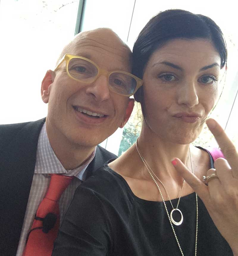 Seth Godin selfie | Veggie Mama