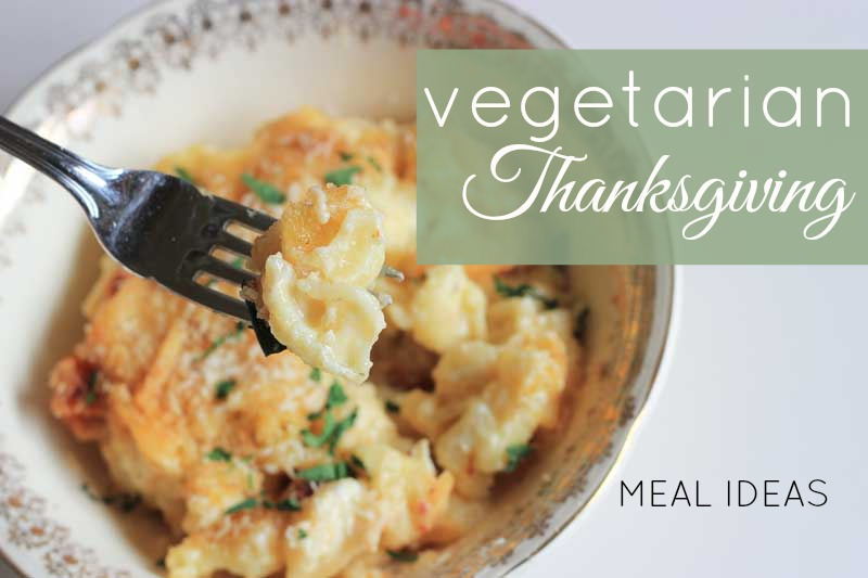 Vegetarian thanksgiving meal ideas - you won't go hungry this holiday season! // www.theveggiemama.com