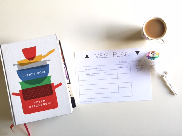 Veggie Mama free printable meal planner